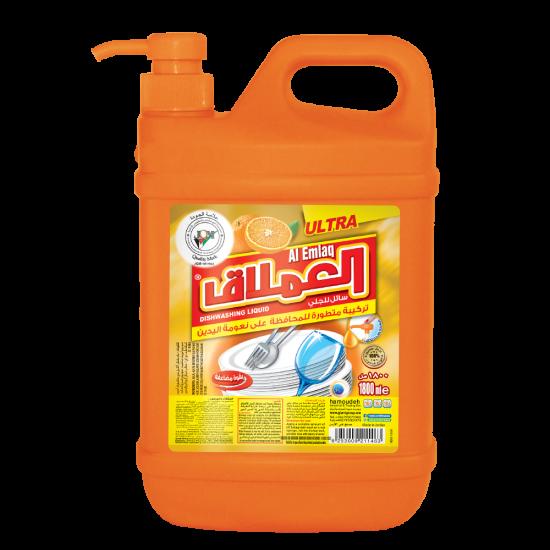 Al-Emlaq Dish Wash Liquid Orange1800ml