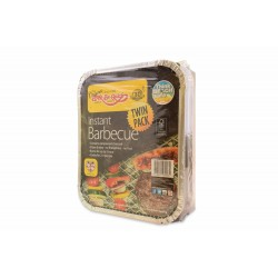 BAR-BE-QUICK INSTANT BARBEQUE TWIN PACK