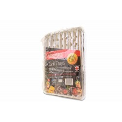 BAR-BE-QUICK GRILL TRAYS 5PK