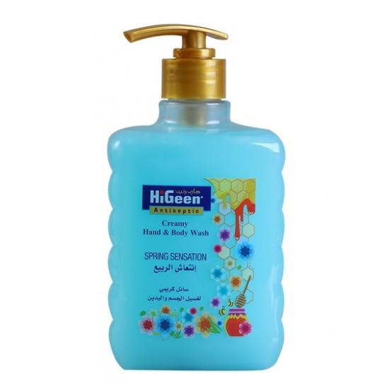 Higeen Creamy H&B Wash 500ML Spring Sensation