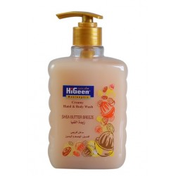 Higeen Creamy H&B Wash 500ML Shea Butter