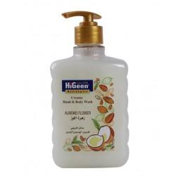 Higeen Creamy H&B Wash 500ML Almond Flower
