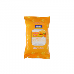 HiGeen Antibac. Wipes 15s Citrus Glow Orange