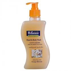 HiGeen Hand&Body Wash 500ml Orange