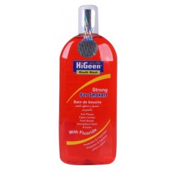 HiGeen Mouth Wash 400ML Smokers