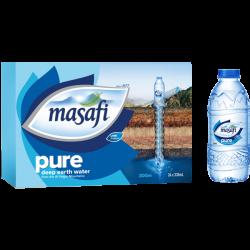 Masafi Mineral Water 330 Ml Normal Logo X 24