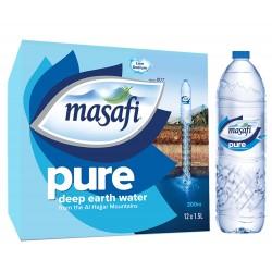 Masafi Natural Drinking Water 1.5 Ltr  x 12