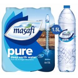 Masafi Natural Drinking Water 1.5 Ltr  x 6