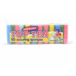 Corazzi Sc.Sponges Top Ten 10 Pcs
